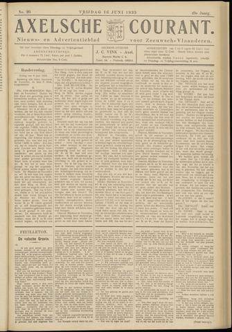 Axelsche Courant 1933-06-16