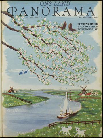 Ons Zeeland / Zeeuwsche editie 1940-04-25