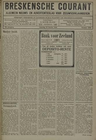 Breskensche Courant 1920-10-30