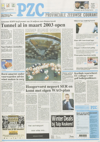Provinciale Zeeuwse Courant 2002-02-15