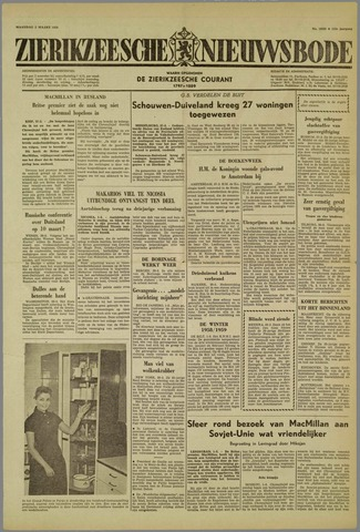 Zierikzeesche Nieuwsbode 1959-03-02