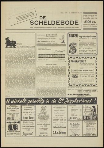 Scheldebode 1950-06-16