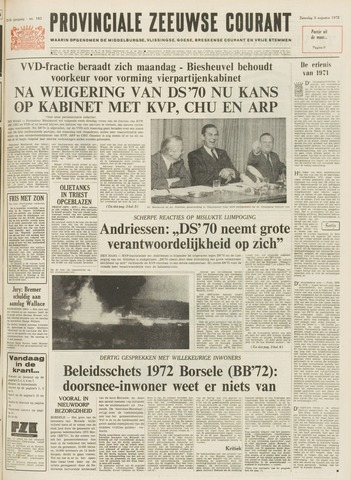 Provinciale Zeeuwse Courant 1972-08-05