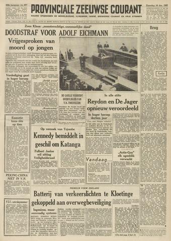 Provinciale Zeeuwse Courant 1961-12-16