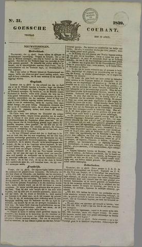 Goessche Courant 1839-04-19