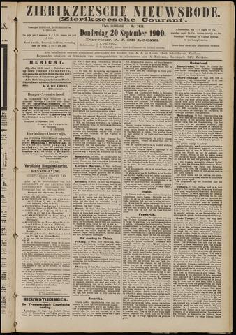 Zierikzeesche Nieuwsbode 1900-09-20