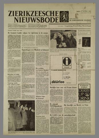 Zierikzeesche Nieuwsbode 1965-12-17