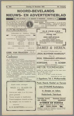 Noord-Bevelands Nieuws- en advertentieblad 1935-11-23