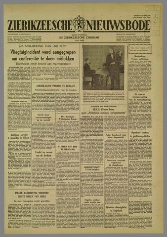 Zierikzeesche Nieuwsbode 1960-05-23