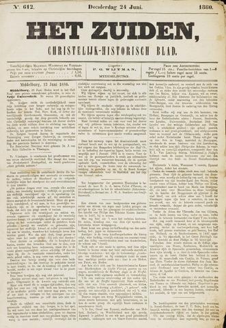 Het Zuiden, Christelijk-historisch blad 1880-06-24