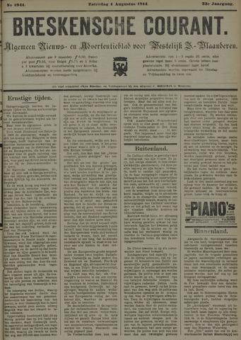 Breskensche Courant 1914-08-01