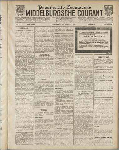 Middelburgsche Courant 1932-10-13