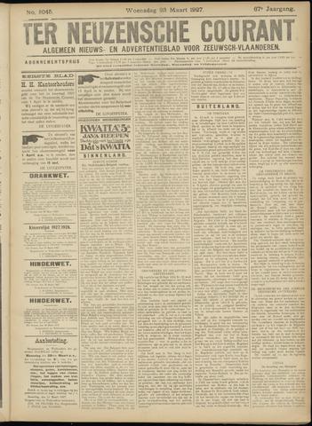 Ter Neuzensche Courant. Algemeen Nieuws- en Advertentieblad voor Zeeuwsch-Vlaanderen / Neuzensche Courant ... (idem) / (Algemeen) nieuws en advertentieblad voor Zeeuwsch-Vlaanderen 1927-03-23