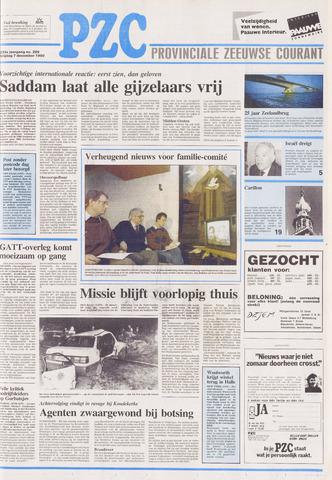 Provinciale Zeeuwse Courant 1990-12-07