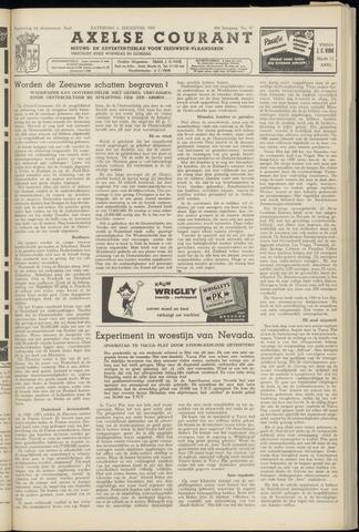 Axelsche Courant 1955-08-06