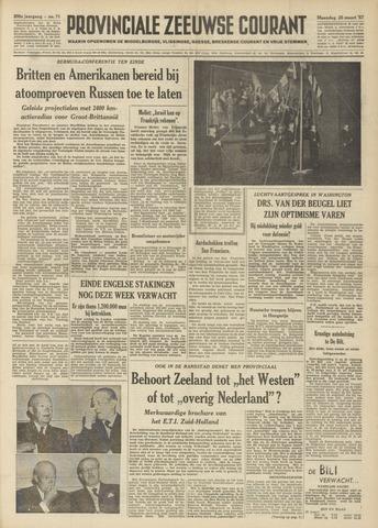 Provinciale Zeeuwse Courant 1957-03-25