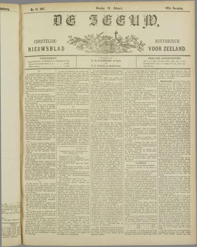 De Zeeuw. Christelijk-historisch nieuwsblad voor Zeeland 1897-02-23