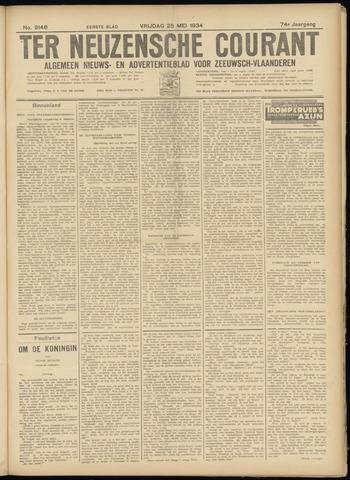 Ter Neuzensche Courant. Algemeen Nieuws- en Advertentieblad voor Zeeuwsch-Vlaanderen / Neuzensche Courant ... (idem) / (Algemeen) nieuws en advertentieblad voor Zeeuwsch-Vlaanderen 1934-05-25