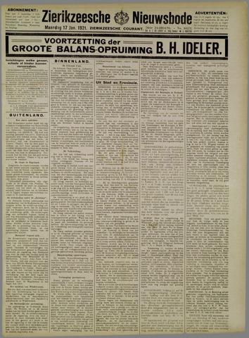Zierikzeesche Nieuwsbode 1921-01-17