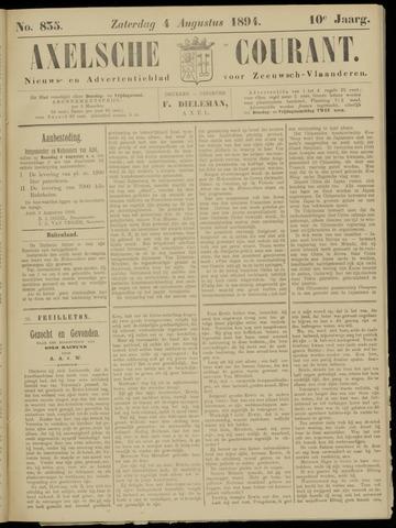 Axelsche Courant 1894-08-04