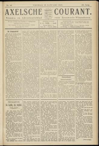 Axelsche Courant 1928-01-13