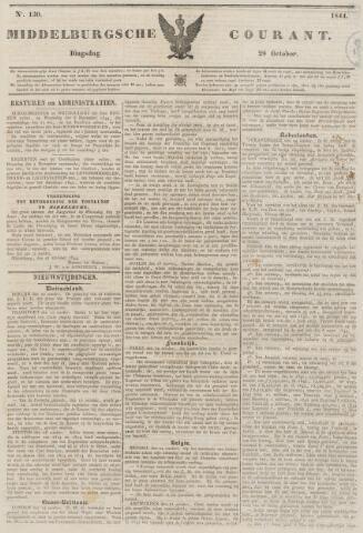 Middelburgsche Courant 1844-10-29