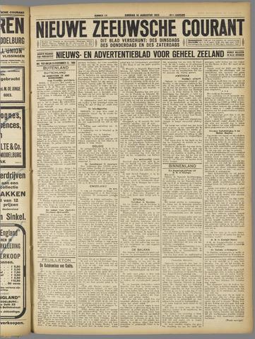 Nieuwe Zeeuwsche Courant 1923-08-14