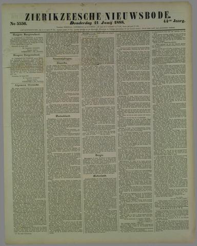 Zierikzeesche Nieuwsbode 1888-06-21
