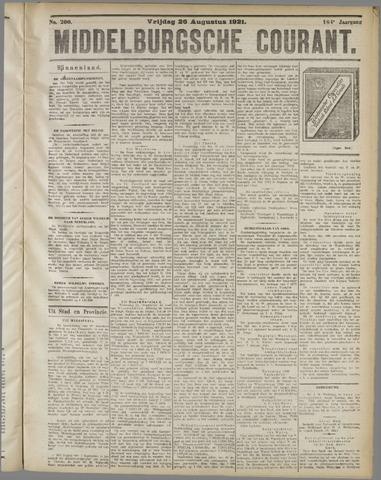 Middelburgsche Courant 1921-08-26