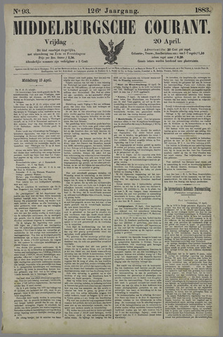 Middelburgsche Courant 1883-04-20