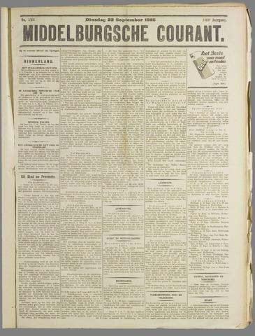 Middelburgsche Courant 1925-09-22