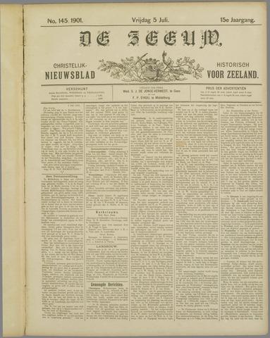 De Zeeuw. Christelijk-historisch nieuwsblad voor Zeeland 1901-07-05