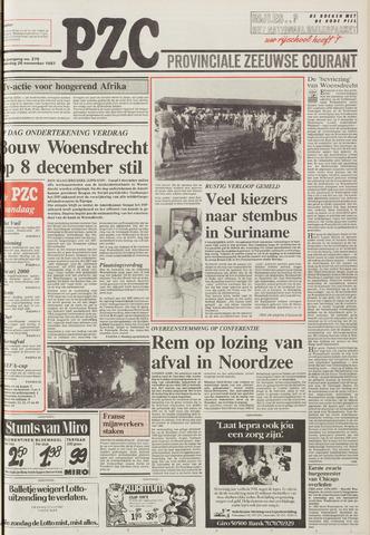 Provinciale Zeeuwse Courant 1987-11-26
