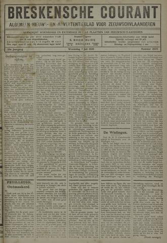 Breskensche Courant 1920-07-07