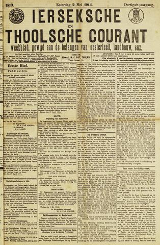 Ierseksche en Thoolsche Courant 1914-05-02