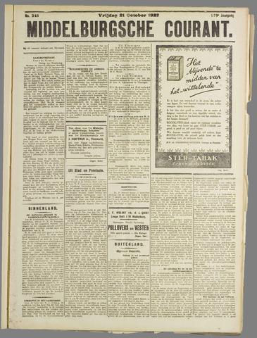 Middelburgsche Courant 1927-10-21