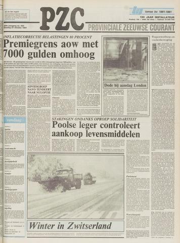 Provinciale Zeeuwse Courant 1981-10-27
