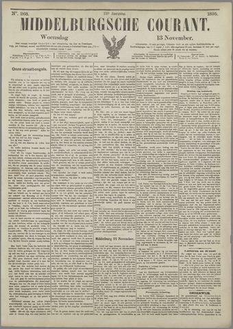 Middelburgsche Courant 1895-11-13