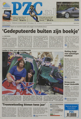 Provinciale Zeeuwse Courant 2011-04-29