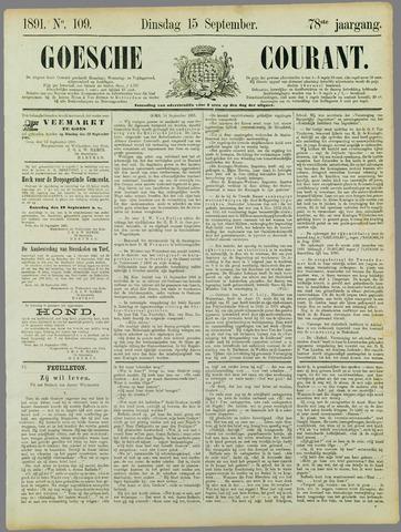 Goessche Courant 1891-09-15