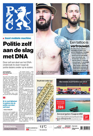 Provinciale Zeeuwse Courant 2016-10-10