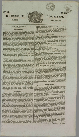 Goessche Courant 1839-01-07