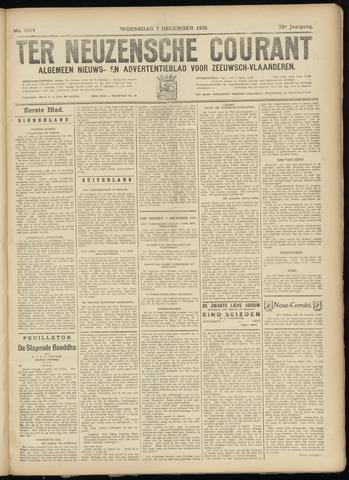 Ter Neuzensche Courant. Algemeen Nieuws- en Advertentieblad voor Zeeuwsch-Vlaanderen / Neuzensche Courant ... (idem) / (Algemeen) nieuws en advertentieblad voor Zeeuwsch-Vlaanderen 1932-12-07