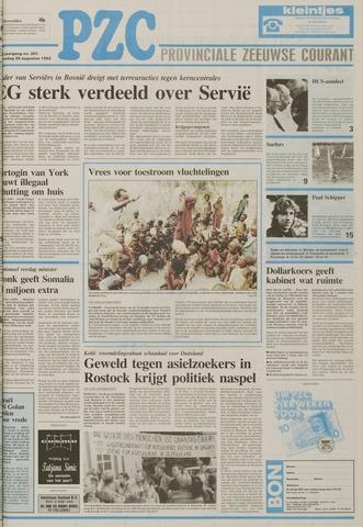 Provinciale Zeeuwse Courant 1992-08-26