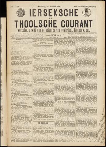 Ierseksche en Thoolsche Courant 1914-10-31