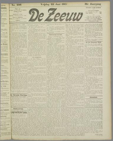 De Zeeuw. Christelijk-historisch nieuwsblad voor Zeeland 1917-06-29