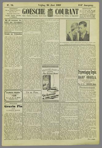 Goessche Courant 1927-06-24