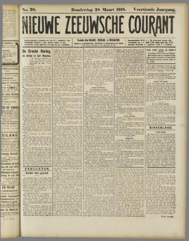 Nieuwe Zeeuwsche Courant 1918-03-28