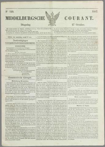 Middelburgsche Courant 1857-10-27