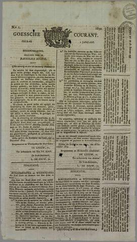 Goessche Courant 1830